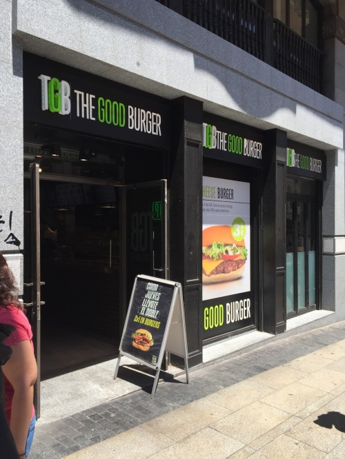 TGB the good burger madrid